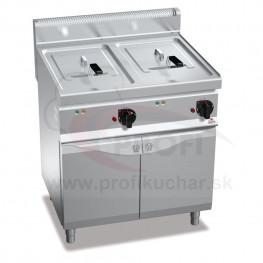Elektrická fritéza BERTO´s 2 x 10 L