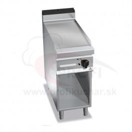 E-grilovacia platna BERTO´s hladka, 5,7 kW