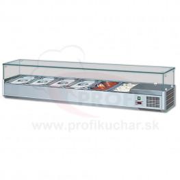 Stolová chladiaca vitrína Gastromarket 1600