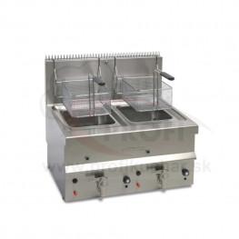 Stolová plynová fritéza Elframo® - 2 x 10 l