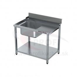 Vstupný stôl k priebežnej umývačke ARISTARCO® – s drezom 800mm