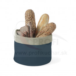 Košík na pečivo okrúhly 15 cm – šedo-tmavomodrý STALGAST®