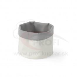 Košík na pečivo okrúhly 25 cm – šedo-béžový STALGAST®