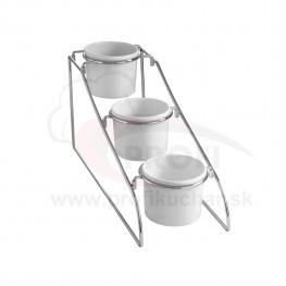 Stojan s 3 nádobami HENDI® 3x1 l