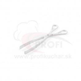 Kliešte na šalát Hendi 29 cm / biele