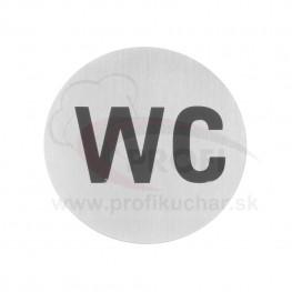 """Informačná tabuľka HENDI® """"WC"""""""