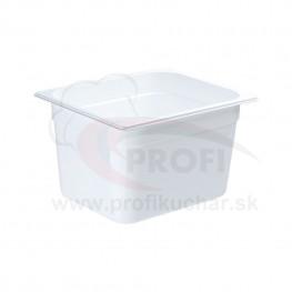 GN nádoba 1/2-200mm, bielý polykarbonát