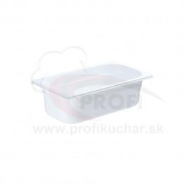 GN nádoba 1/3-100mm, bielý polykarbonát
