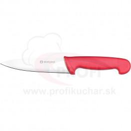 HACCP-nůž, ćervený, 16cm