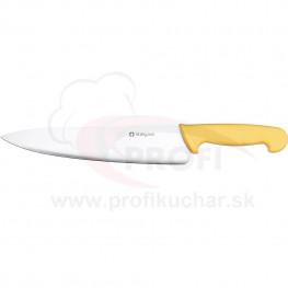 HACCP-nůž, žlutý, 25cm