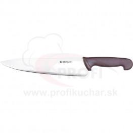 HACCP-nůž, hnědý, 25cm