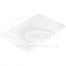 Doska na krájanie STALGAST® 45 x 30 / biela