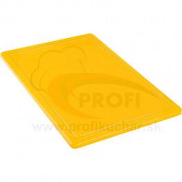 Doska na krájanie STALGAST® 60 x 40 / žltá