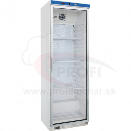 Podpultová chladnička s presklenými dvierkami STALGAST® 600 x 600 x 1850 mm