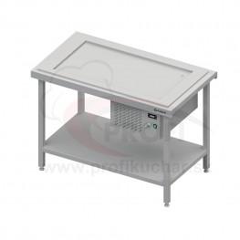 Výdajný stôl s chladenou platňou na 2x GN1/1
