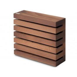 Wüsthof Blok na nože hnedý magnetický 7249