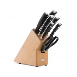 Wüsthof CLASSIC IKON Blok s noži - 7 dílů 9875