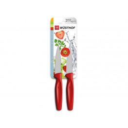 Wüsthof nôž na zeleninu červený, sada 2 ks 9343r