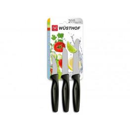 Wüsthof Sada nožů černých, 3 ks 9333