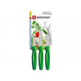 Wüsthof Sada nožov na zeleninu zelených, 3 ks 9332g