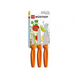 Wüsthof Sada nožov oranžových, 3 ks 9333o
