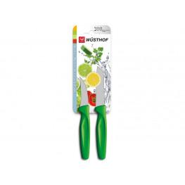 Wüsthof Sada nožů zelených, 2 ks 9313g