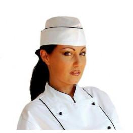 Kuchařská lodička s lemem UNISEX