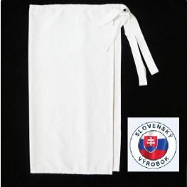 Kuchárska zástera nízka - s vreckom 100% bavlna - rôzne farby