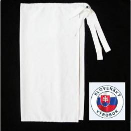 Kuchařská zástěra nízká 100% bavlna DÁMSKA- různé barvy