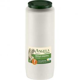 Náplň do kahanca Angela NR12 biela, 155 h, 471 g, olejová