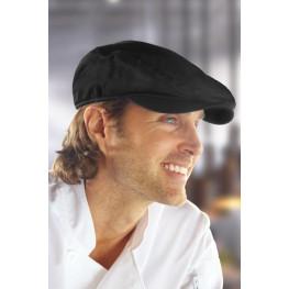 Kuchařská baret jednobarevná, černá