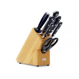 Blok s nožmi 7-dielny Wüsthof CLASSIC - svetlý 9835-200