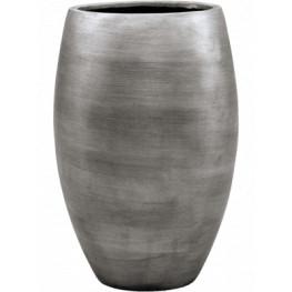 Kvetináč Capi Nature Retro Vase elegant deluxe strieborný 39x60  cm
