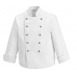 Kuchařský rondon DĚTSKÝ - bílý s knoflíky