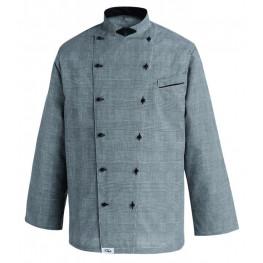 Kuchařský rondon Albert Galles (šedé káro)