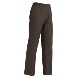 Kuchárske nohavice hnedé