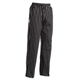 Kuchařské kalhoty AMERICA - široké pásy, 100% bavlna