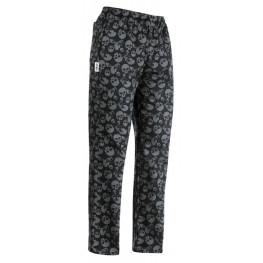 Kuchárske nohavice Smrtky, 100% bavlna