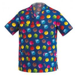 Kuchařská košile modrá - motiv zmrzlina