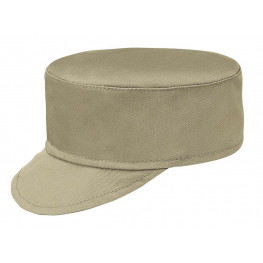 Kuchárska čiapka so šiltom - béžová