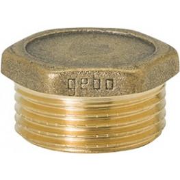 """GEBO Gold - Ms Zátka so šesťhranom M 1"""", G290-06BR"""