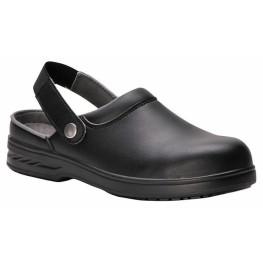Steelite™ Safety Clog - čierne