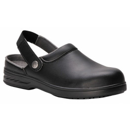 Steel ™ Safety Clog - černé