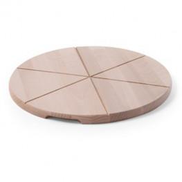 Drevený pizza podnos - pr. 50 cm