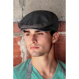 Kuchárska baretka 100 % bavlna - denim, 2 farby