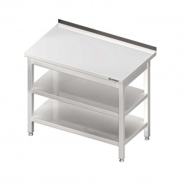 Pracovný stôl s dvoma policami 1800x600x850mm