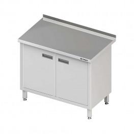 Pracovný stôl krytovaný - krídlové dvere 1500x700x850mm