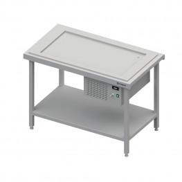 Výdajný stôl s chladenou platňou na 3x GN1/1