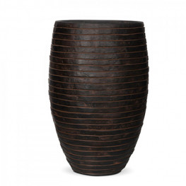 Capi Nature Row Vase elegant deluxe brown 41/62cm