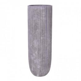 Polystone Lourdee Lava raw grey 31x90 cm
